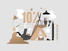 Newsletter signup by Timo Kuilder #Design Popular #Dribbble #shots