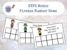 Help your children to learn to add and subtract with this attractive pirates number game. This resources focuses on the following EYFS learning objectives:<br /> <br /> In practical activities and discussion, beginning to use the vocabulary involved in a...