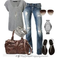 Comfy Casual by uniqueimage on Polyvore