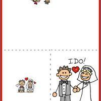 printable wedding cards Klisethegreaterchurchco