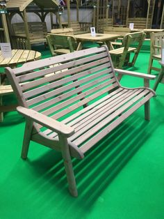 Anchor Fast Padstow 3 Seater Bench - Simply Wood
