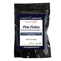 Longevity Warehouse® Raw Pine Pollen, 50 g