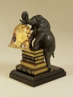 Shop for Maitland-Smith Verdigris Patina Brass Elephant Decorative Lamp, Penshell Shade Desk Lamp, and other Lamps and Lighting at Greenbaum Home Furnishings in Bellevue, WA. Elephant Lamp, Elephant Home Decor, Elephant Gifts, Elephant Stuff, Safari Decorations, Light Decorations, Book Lamp, Decorative Accessories, Decorative Lamps