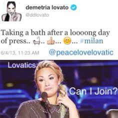 Demi Lovato - LOVATICS haha