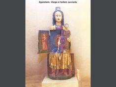 Eguisheim: Het openen van Virgin, in de kerk (© Jean Espirat)…
