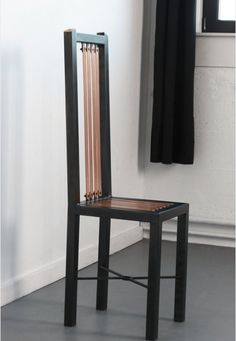 The Highline  Copper and Steel Highback Chair by SaintFurniture, $650.00