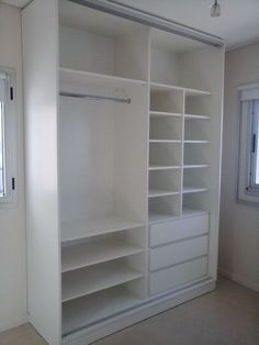 Closet ideas for small spaces ikea wardrobes dressing rooms 29 ideas for 2019 Bedroom Built In Wardrobe, Ikea Wardrobe, Bedroom Closet Storage, Bedroom Closet Design, Bedroom Furniture Design, Rooms Furniture, Pipe Furniture, Closet Renovation, Closet Remodel