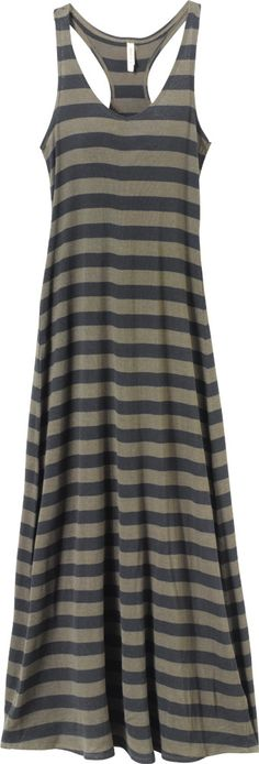 Holy crap I have a maxi dress almost exactly like this! Cute Preppy Outfits, Girl Outfits, Fashion Outfits, Striped Maxi Dresses, Casual Dresses, Boho Hippie, Diva Fashion, Fashion Styles, Cool Style