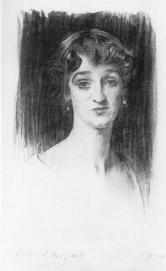 "Redmond McGrath - 1919 - Charcoal on white paper, ""Mug"" 60 x 38 cm - private collection Woman Sketch, Woman Drawing, Drawing Women, John Singer Sargent, Fine Art Drawing, Drawing Faces, Figure Drawing, Art Drawings Sketches, Art Illustrations"