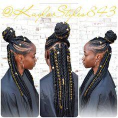 Two Braid Hairstyles, Braided Hairstyles For Black Women, Braids For Black Women, African Braids Hairstyles, Braids For Black Hair, Ghana Braids Updo, Fulani Braids, Fishtail Braids, Braided Ponytail