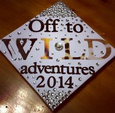 Animal print Graduation cap