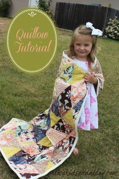 "Quillow Tutorial - <a href=""http://www.sewwhatalicia.com"" rel=""nofollow"" target=""_blank"">www.sewwhatalicia...</a>"