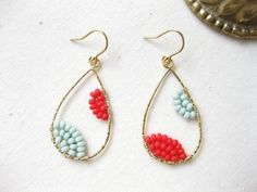 Such pretty earrings and on-trend for spring/summer #Earrings #accessories #fashion
