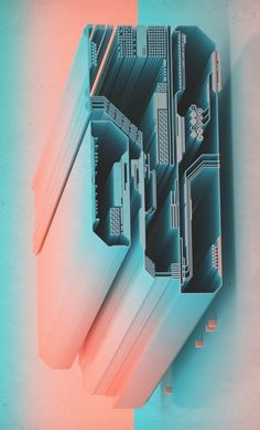 rhubarbes:  3D art by beeple.More 3D art here.