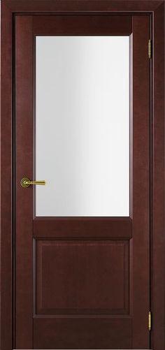Sarto Interio NS 1222 Interior Door Satin Glass Red Tree Mocco