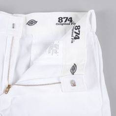 Dickies Original Work Pant - White