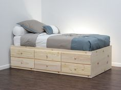 Gothic Cabinet Craft - Storage Bed with 6 Drawers, Twin, $469.00 (http://www.gothiccabinetcraft.com/storage-bed-with-6-drawers-twin/)