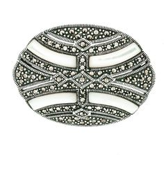 Mother of Pearl Marcasite Brooch/Pendant Sterling Silver Mother of Pearl This beautiful Brooch can also be worn as a Pendant. Marcasite Jewelry, Sterling Silver Jewelry, Semi Precious Gemstones, Natural Gemstones, Fashion Jewelry, Brooch, Pearls, Pendant, Chicago