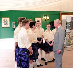 "Clarence House on Twitter: ""HRH attends the launch of a partnership between the Royal Conservatoire of Scotland & @Dumfries1754."