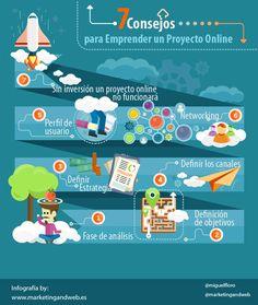 consejos y herramientas básicas para crear un proyecto online #emprender #emprendimiento #emprendedores #startup