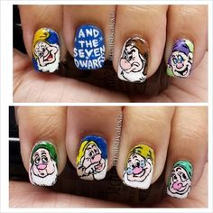 The Seven Dwarfs Nails