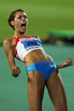 What a machine! Blanka Vlasic is one of women's most prolific high jumpers.