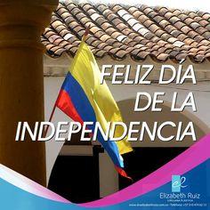 Feliz 20 de Julio, día de la independencia!  Orgullosamente Colombiana!