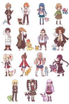 Danganronpa Funny, Super Danganronpa, Danganronpa Characters, Anime Characters, Pokemon Crossover, Anime Crossover, All Anime, Anime Art, Byakuya Togami