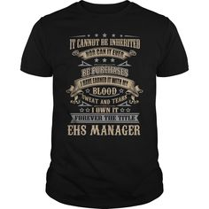 25 Best Ehs Manager T Shirts Hoodies Images