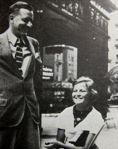 F. Scott Fitzgerald and Scottie - 1935 - Cambridge Arms, Baltimore