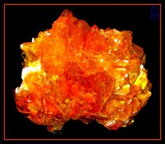 Fiery Orange Mineral (Wolfenite from Mexico)