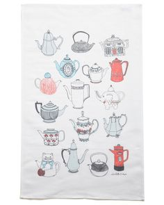 tea printed towel...I want