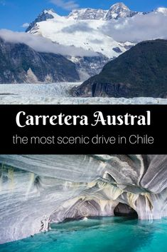 The Carretera Austral is a scenic road in Chilean Patagonia filled with snow peaked mountains, lakes, and rivers in every shade of blue imaginable and way