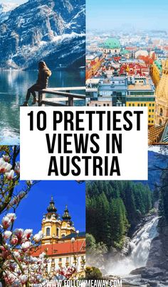 10 Stunningly Beautiful Places to Visit in Austria 10 Prettiest Views In Austria Europe Travel Tips, European Travel, Travel Guide, Beautiful Places To Visit, Cool Places To Visit, Places To Travel, Best Vacations, Vacation Trips, Vacation Travel