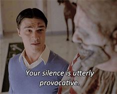 When you try to talk to the bae - AHS Freak show