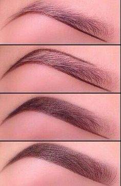How to: perfect brows. I really want my brows to be this thick.