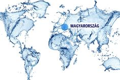 Design Art Designart World Map Water Splash Abstract Map Canvas Art Print - 32 X 16 Map Canvas, Abstract Canvas Art, Canvas Art Prints, Agua Kangen, Kangen Water, Ken Kaneki Tokyo Ghoul, World Map Wallpaper, Wallpaper Murals, Travel Wallpaper