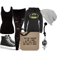 """""""Untitled #317"""" by littlemisstoxin on Polyvore"""