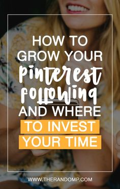 How to grow your Pinterest following? How to increase pin engagement? And how to use Pinterest group boards to get more traffic? All of that and more about Pinterest: https://www.therandomp.com/blog/my-first-4k-followers-on-pinterest/