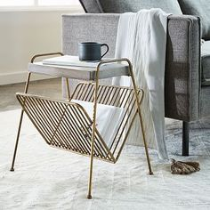 Kinsey Magazine Side Table #westelm