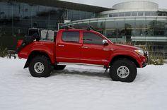 Arctic Trucks Toyota Hilux by Toyota UK, via Flickr