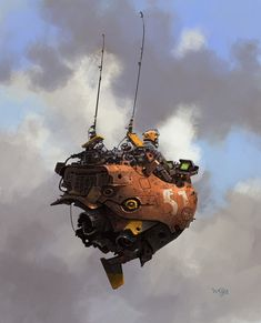 Scout Flyer by Ian McQue