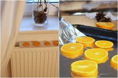 Made My Day, Christmas, dried oranges, radiator, Jak suszyć pomarańcze