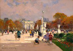 Les Tuileries - Edouard Cortes