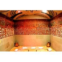 Mud and Jade Room at the Olympus Spa. This is just one of the many rooms and treatments that the Olympus Spa offers. Every woman should treat themselves to a whole day at this place. It's truly magical! You must do the body scrub and moisturizer together<3