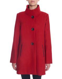 Women | Coats & Jackets  | Wool-Blend A-Line Coat | Hudson's Bay