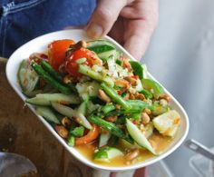 Andy Ricker's Hot & Spicy Thai Salad, Step By Step (spoiler Alert: Prepare To Pound)read More Www.bonappetit.co...