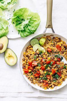 Quinoa Taco Lettuce