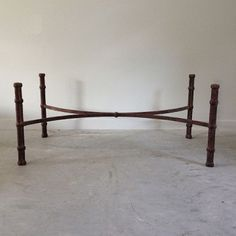 Giacometti Inspired Iron Coffee Table Base   RT Facts