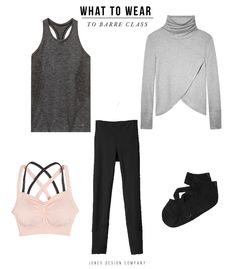 What To Wear to Barre Class / jones design company